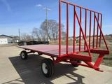 20 ft flatbed wagon w/anhydrous running gear (shop built)