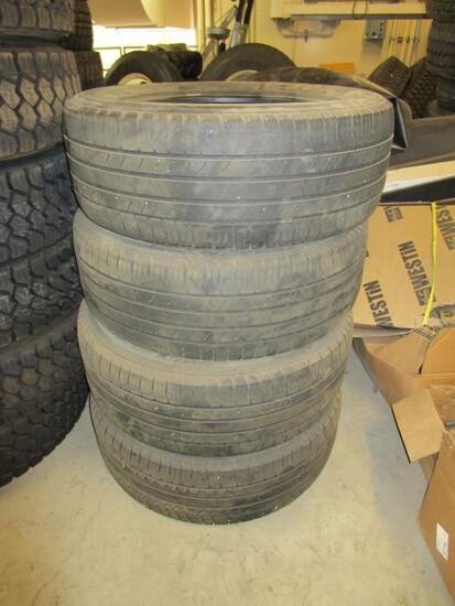 "Set of 4, size P275/55R 20 5/32"" tread Firestone Destination"