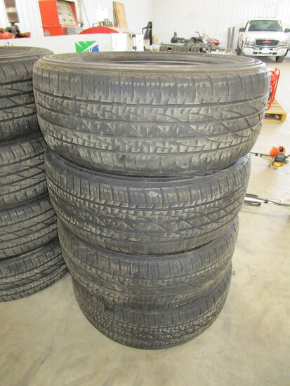 "Set of 4 Michelins, 245/60 R 18, 5/32"" tread"