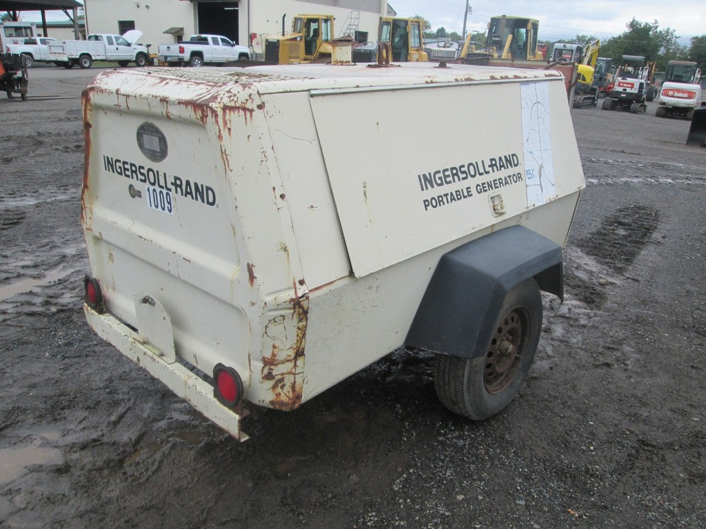 Lot: Ingersoll Rand 50KW Tow Behind Generator | Proxibid