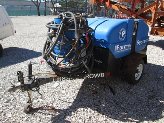 2005 Farrow Systems 70 Tow Behind Sandblast Unit