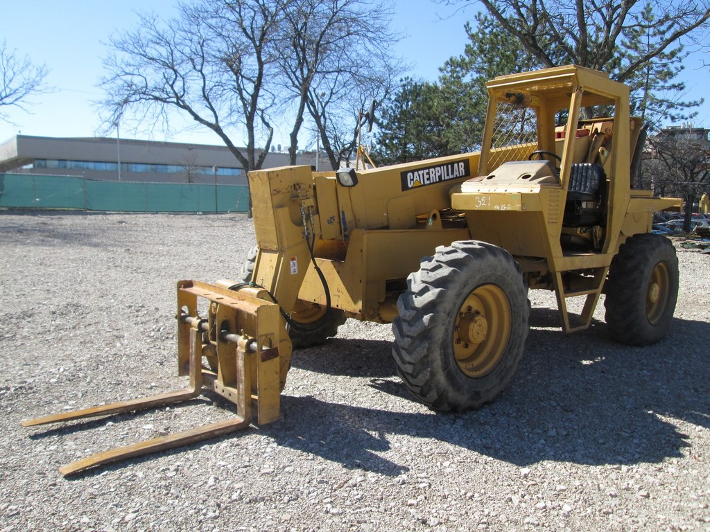 1995 Caterpillar RT80 Telescopic Forklift