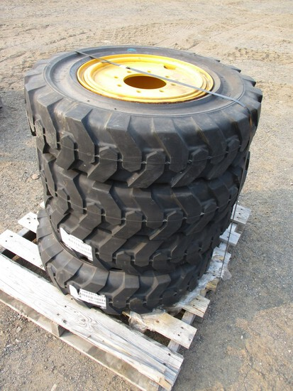 (4) Solideal 8.00-16 Snow Tires