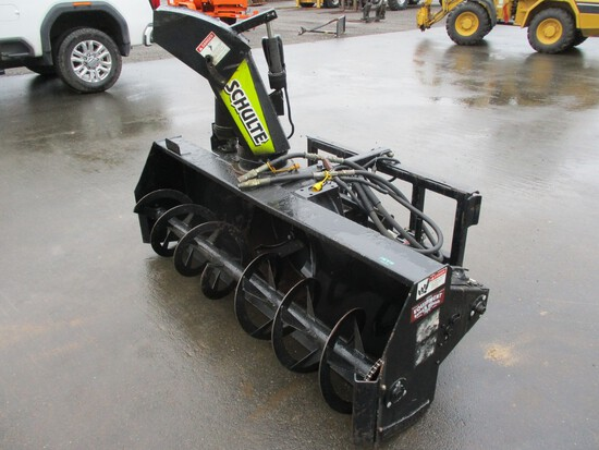 Schulte 7400 Snow Blower Attachment