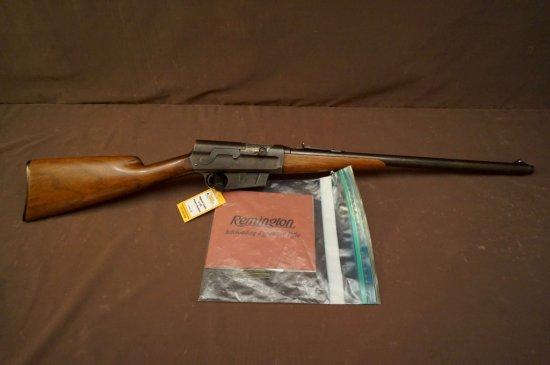 Remington M. 8 .30Rem Semi-auto Rifle