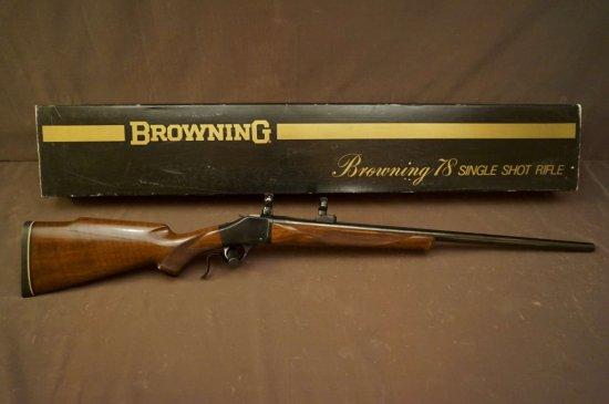 Browning M. 78 .22-250 Single Shot Rifle