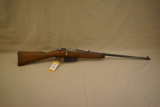 Sporterized 6.5mm Carcano B/A Rifle