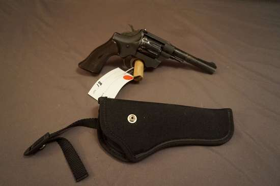 Hi Standard R-100 .22 Double Action Revolver.