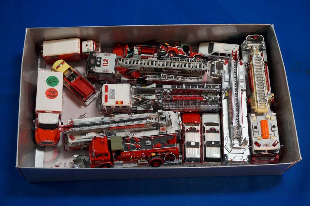 500+ Lots of Fire Fighter Memorabilia