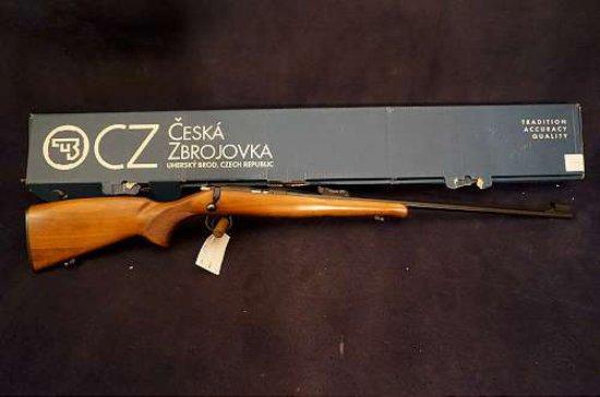 CZ M. ZKM 452 Special .22LR B/A Rifle