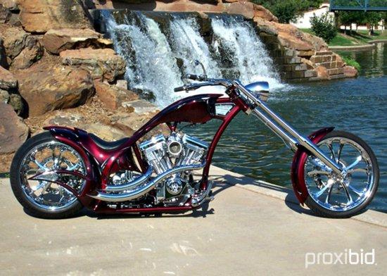2013 ASVE Hand Built Custom Motorcycle