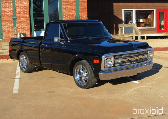 1970 Chevrolet Short Wide Bed Pickup