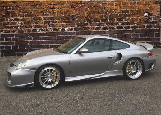 2002 Porsche 911 Turbo S Custom Coupe