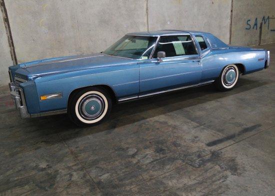 1978 Cadillac Eldorado Biarritz Two Door Hardtop