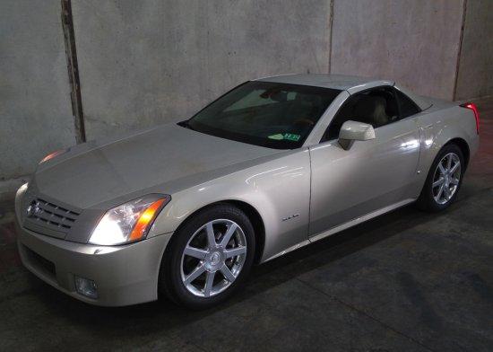 2006 Cadillac XLR Convertible Hardtop