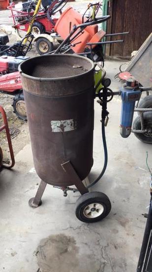 Sandblasting Pot