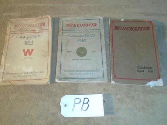 Winchester Catalog #79-1914, #80-1916, #81-1918
