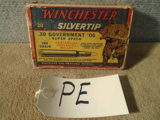 "Winchester ""Bear Box"" 30-06 Government – Full Box"
