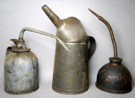 Vintage Automobile Oil Cans
