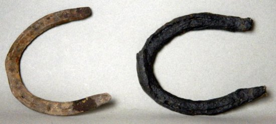 Two Antique Horseshoes