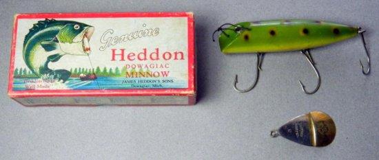 Heddon - Dowagiac Minnow 7500 IV Fishing Lure and Box