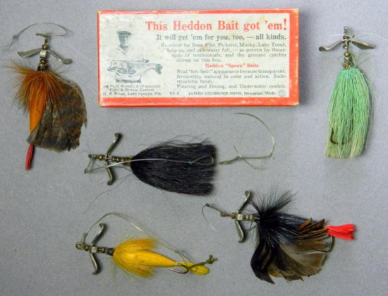 Heddon - Dowagiac River Runt Fishing Lure Box