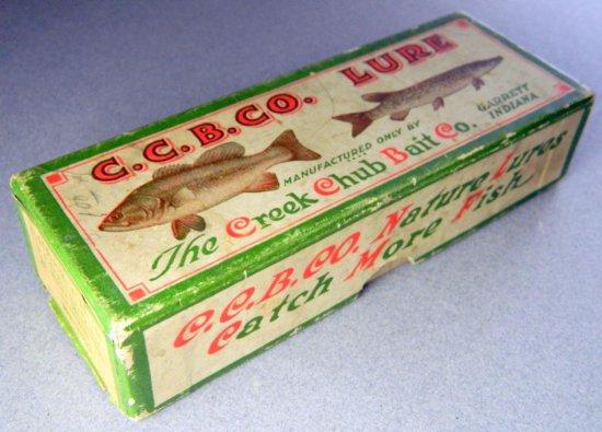 The Creek Chub Bait Co. Floating Injured Minnow Lure Box