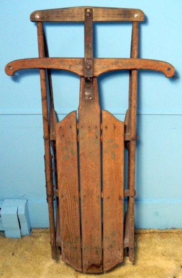 Antique Fire Fly Sled