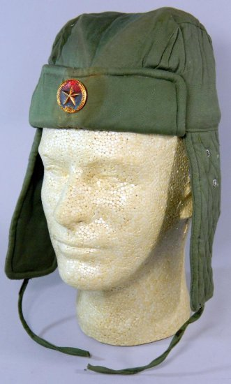 North Vietnamese Tank Ear Flap Hat