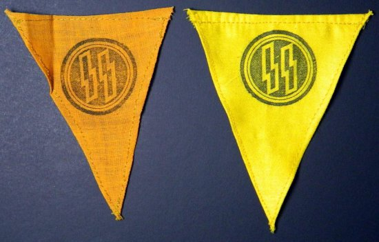 German Small SS Pennants / Markers