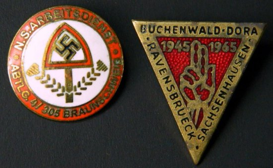 Grouping of Two German Pins