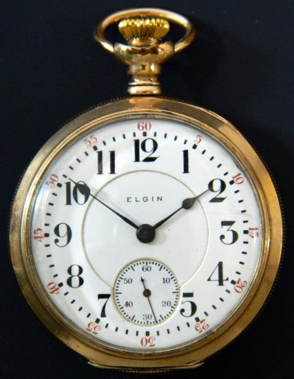 Elgin Veritas, Model 8 Pocket Watch, ca. 1908
