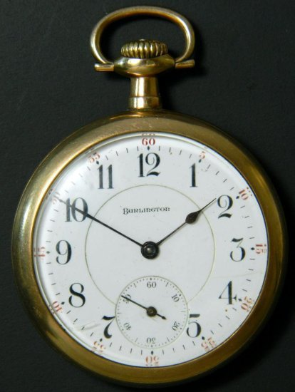 Burlington Watch Co. Illinois Private Label, Model 9. ca. 1915