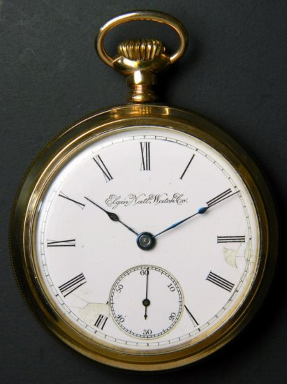 Elgin Model 5 Pocket Watch, ca. 1898
