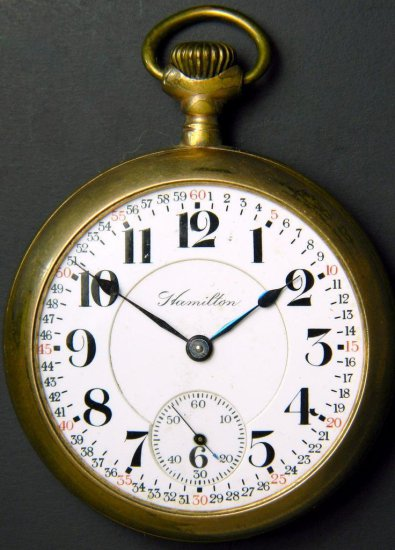 Hamilton Model 1 Pocket Watch, ca. 1914