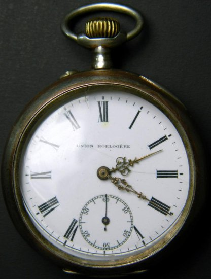Union Horlogere Pocket Watch