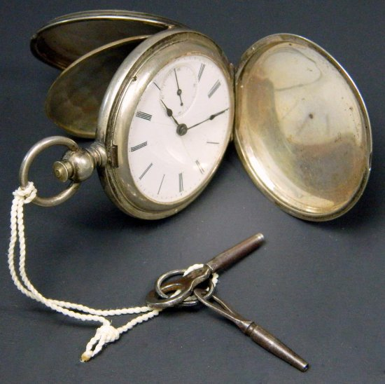 Longines Antique Key Wind Pocket Watch