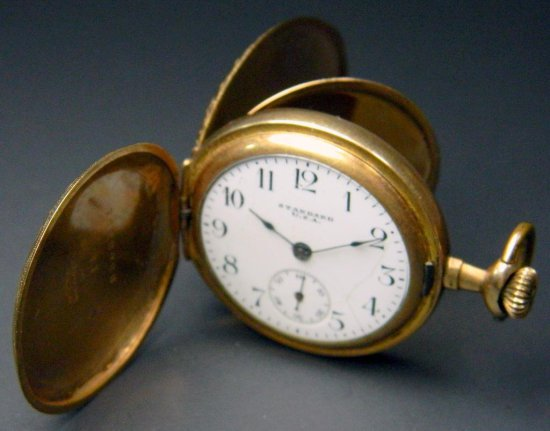 Standard U.S.A. Ladies Pocket Watch