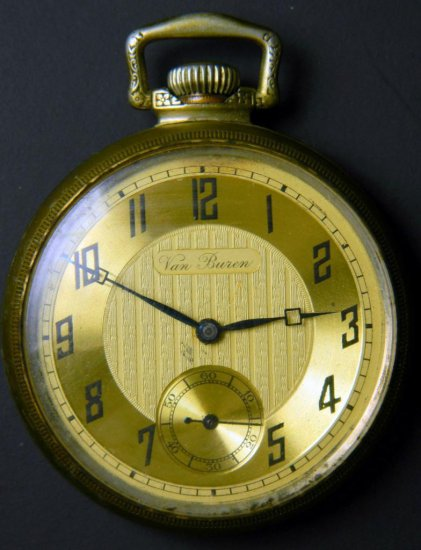 Swiss Movement Van Buren Pocket Watch