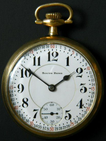 South Bend Model 2, Grade 227 Pocket Watch, ca. 1913