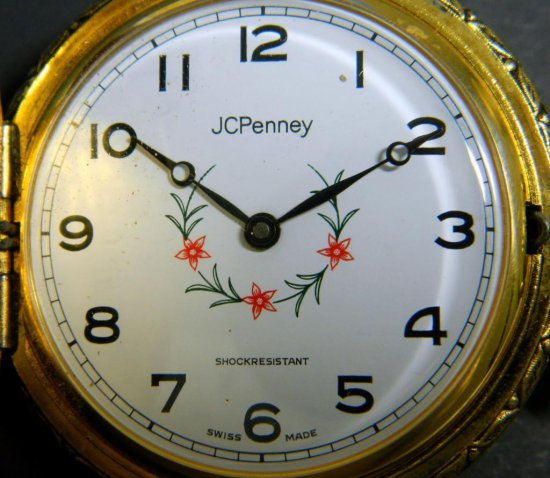 JCPenney Swiss-Made Pocket Watch