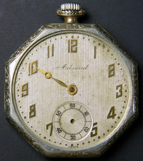 Tacy Watch Co. Admiral Pocket Watch