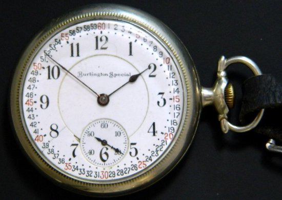 Burlington Watch Co., Burlington Special, Model 8, ca. 1915