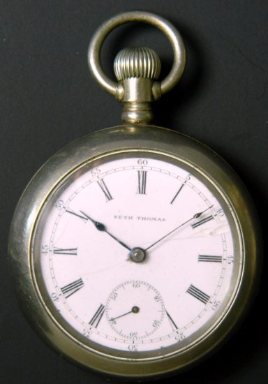 Seth Thomas Pocket Watch, Old Eagle, Model 6