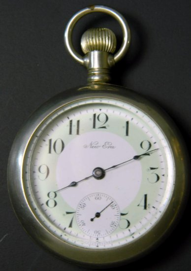 New Era U.S.A. Pocket Watch, Model 6