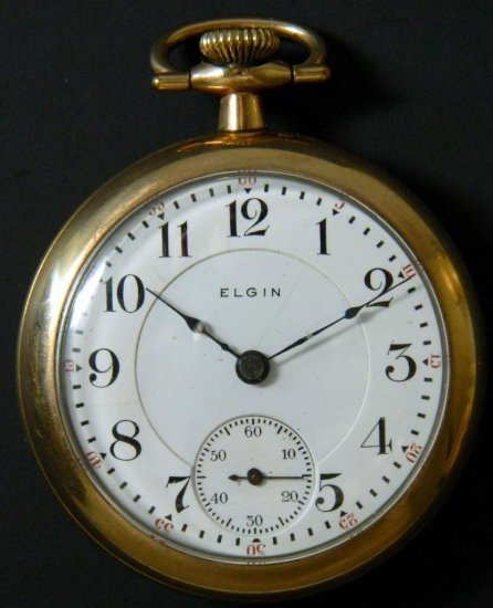 Elgin Model 7, Grade 180 Pocket Watch, ca. 1904