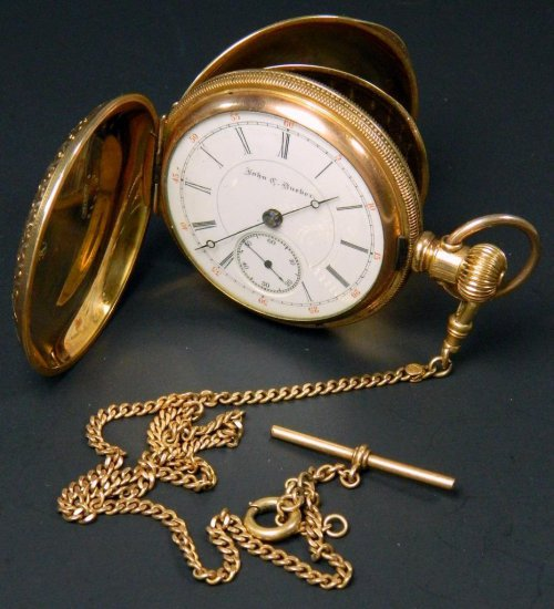 Hampden John C. Dueber Pocket Watch, Model 2, ca. 1891