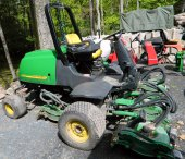 Golf Course Equipment Business Liquidation