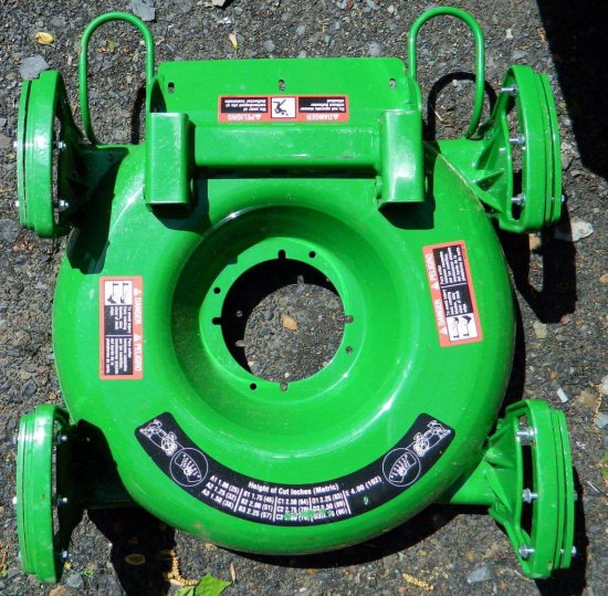 Brand New OEM John Deere 3245C Mower Deck Part with Labels