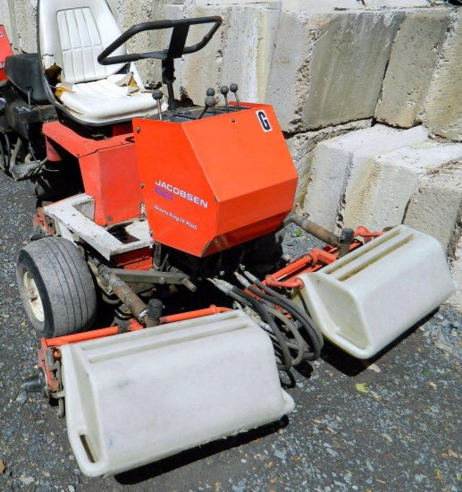 Jacobsen Textron Greens King IV Plus Mower